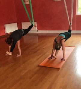 Flying Yoga Class - Aerial Yoga