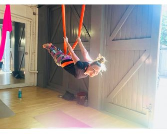 Flying Yoga Taster Session - Aerial Yoga 11th April -5.15-6.15pm