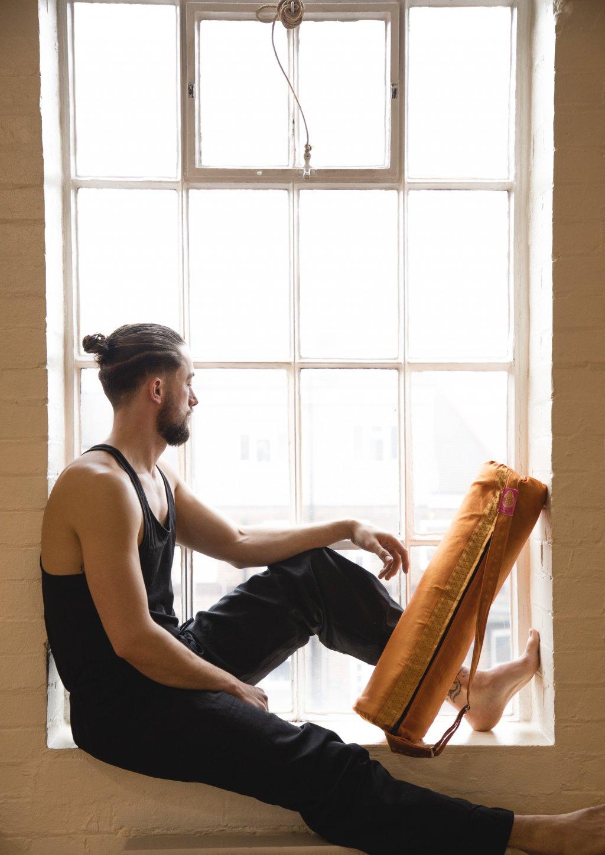 Morning Glory Yoga Bag