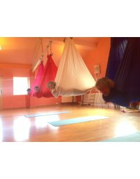 Flying Yoga Class - Aerial Yoga