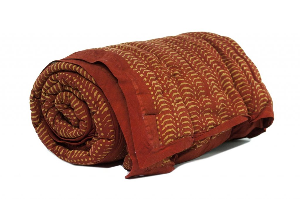 Red Earth Organic Blanket