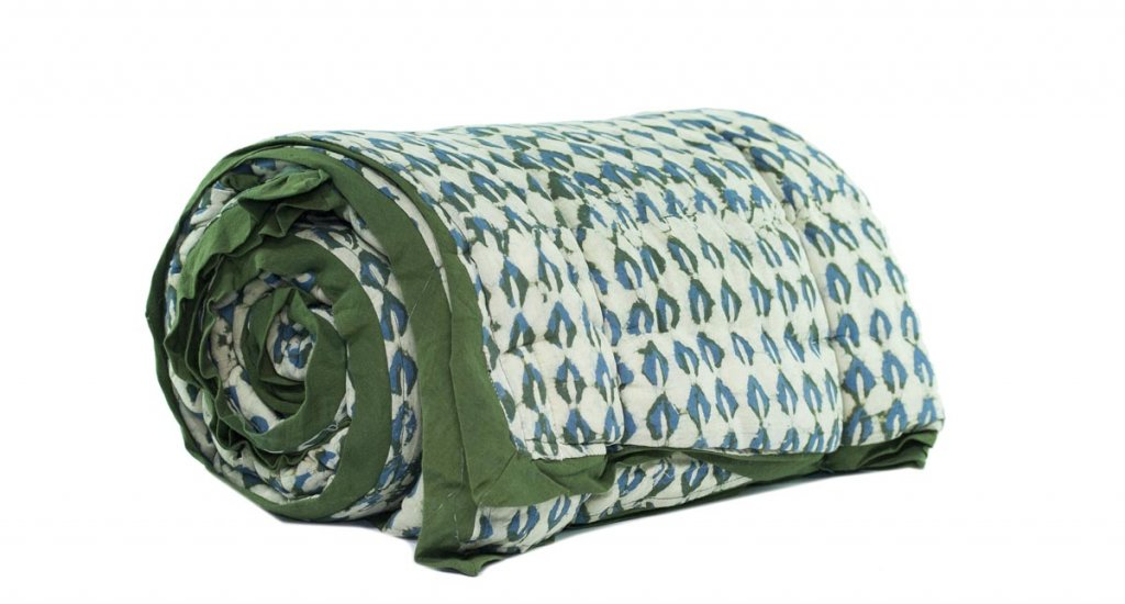 Organic Cotton Blankets - Natural Dyes