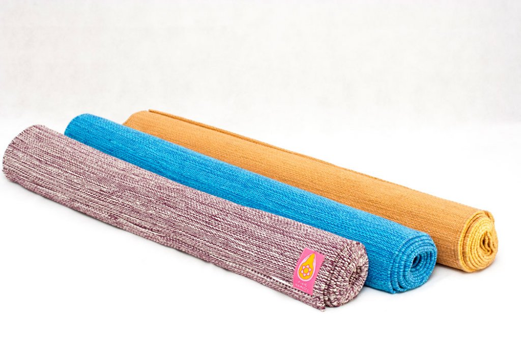 Organic Yoga Rug Cream/Natural