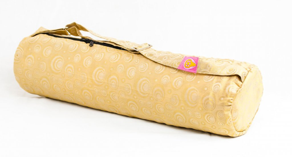 Golden Orb Yoga Bag